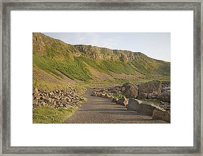Cliffway Path -- Giant's Causeway -- Ireland Framed Print