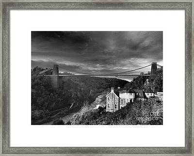 Clifton Suspension Bridge Framed Print by Michael Canning