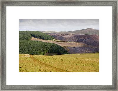 Climate Change Heaven And Hell Framed Print by Ashley Cooper