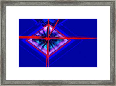 Climate Change The Clock Is Ticking Framed Print by Andrew Penman
