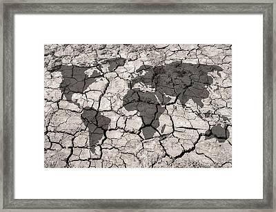 Climate Change Framed Print by Victor De Schwanberg
