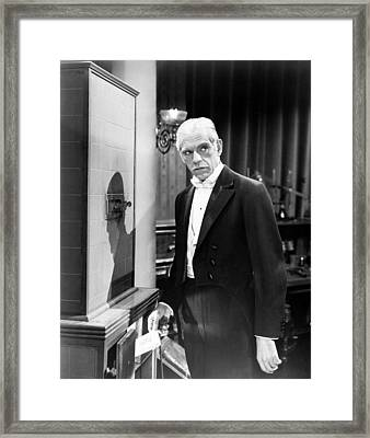 Climax, Boris Karloff, 1954-58 Framed Print by Everett