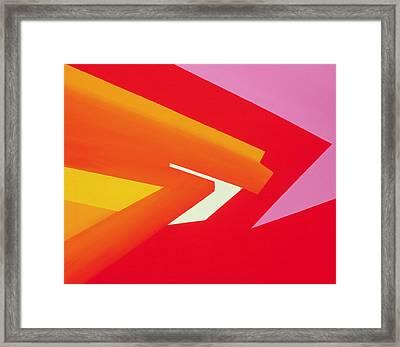 Climax Framed Print by Izabella Godlewska de Aranda