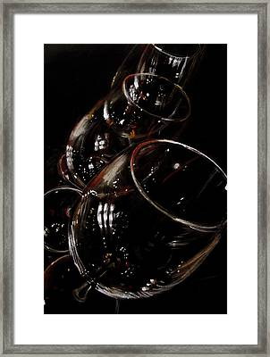 Clink Framed Print by Molly Picklesimer
