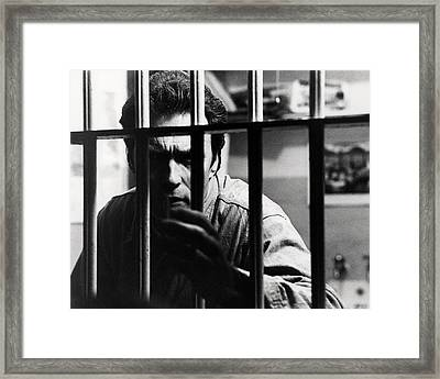 Clint Eastwood In Escape From Alcatraz  Framed Print by Silver Screen