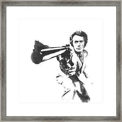 Clint Easwood 3b Framed Print by Brian Reaves