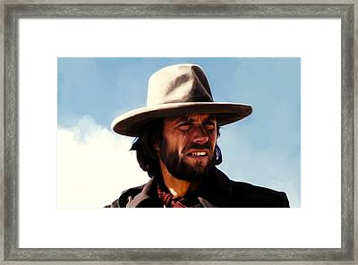 Clinton Eastwood 4a Framed Print by Brian Reaves