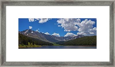 Clinton Gulch Summer Framed Print by Darren  White