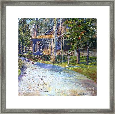 Clinton Nature Center Framed Print by Chris Shepherd