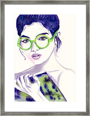 Clio Muse Of History Framed Print by D Renee Wilson