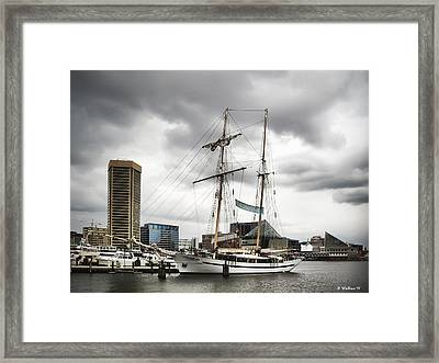 Clipper City Framed Print