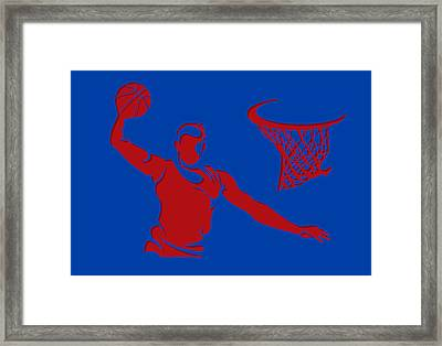 Clippers Shadow Player1 Framed Print