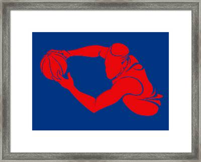 Clippers Shadow Player2 Framed Print