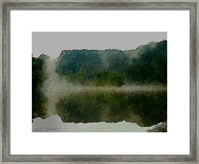 Cloaked Fluidity Framed Print