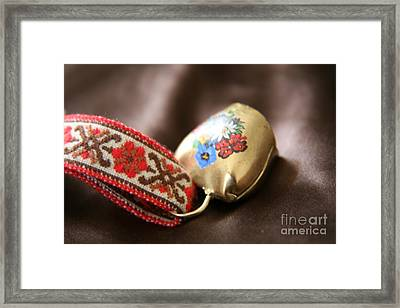 Framed Print featuring the photograph Cloche  by Lynn England
