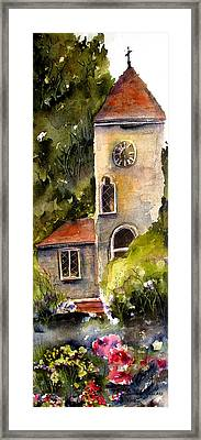 Clock Tower England Framed Print