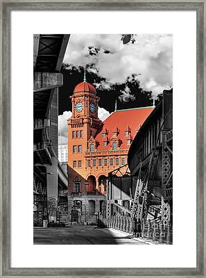 Clock Tower Framed Print by Tim Wilson