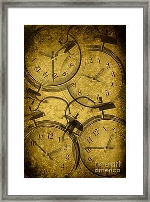 Clocks Framed Print