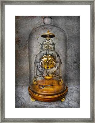 Clocksmith - The Time Capsule Framed Print by Mike Savad