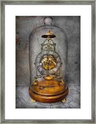 Clocksmith - The Time Capsule Framed Print