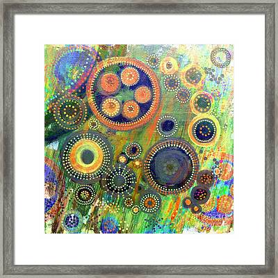 Clockwork Garden Framed Print