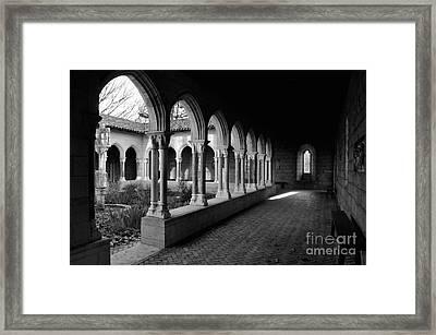 Cloisters 1 Framed Print by Bob Stone
