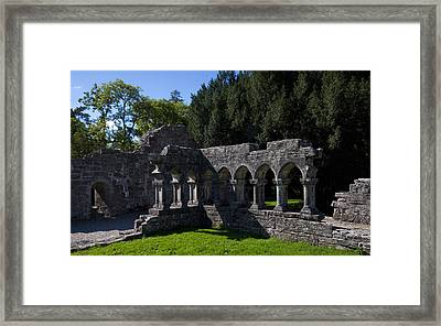 Cloisters In The Augustinian 12th Framed Print
