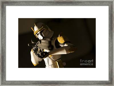 Clone Trooper 1 Framed Print by Micah May