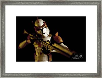 Clone Trooper 2 Framed Print by Micah May