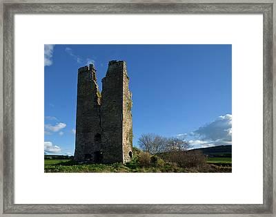 Clonea Castle, Near Clonea, County Framed Print