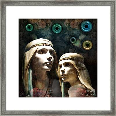 Cloned Dreams Framed Print by Rosa Cobos