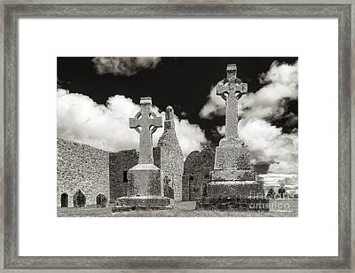 Clonmacnoise Framed Print by Juergen Klust