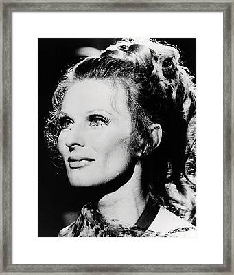 Cloris Leachman In Dillinger  Framed Print by Silver Screen