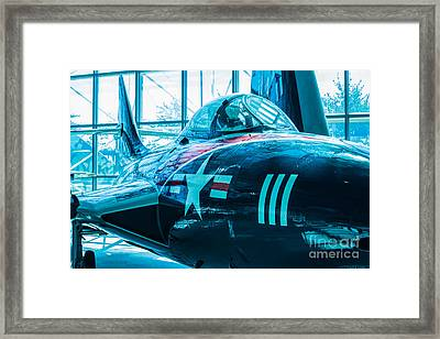 Close Call Framed Print by Rich Priest