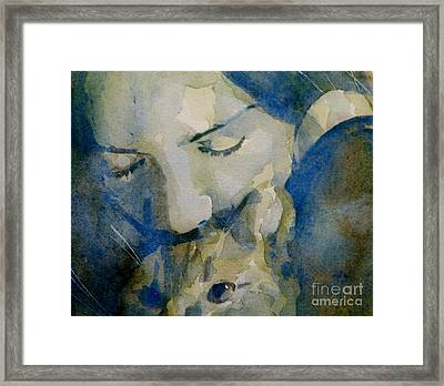 Close My Eyes Lullaby Me To Sleep Framed Print