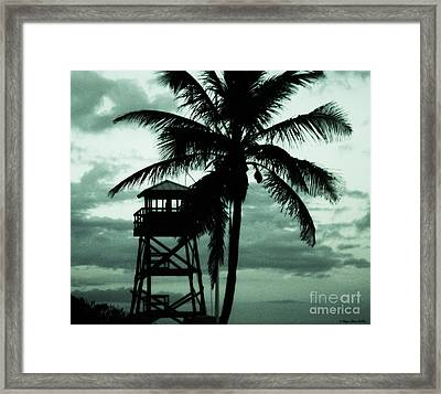 Close To Paradise No1 Framed Print by Megan Dirsa-DuBois