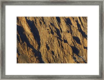 Close Up Of Cathedral Spires Mountains Passu Framed Print by Robert Preston