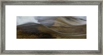 Close-up Of Ledge Falls, Baxter State Framed Print by Panoramic Images