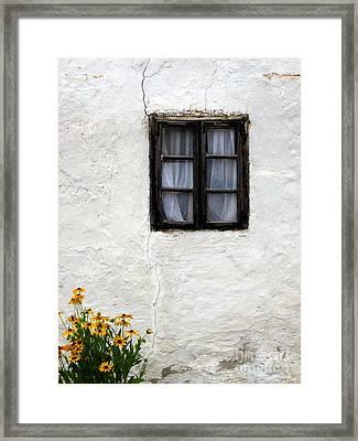 Closed Framed Print