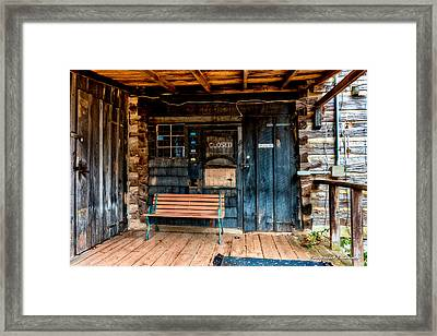 Closed Framed Print by Christopher Holmes