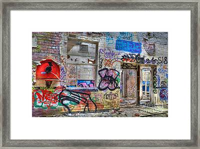 Closed For Business Framed Print by David Birchall