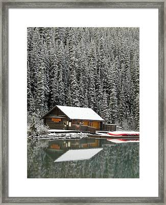 Closed For The Season- Framed Print