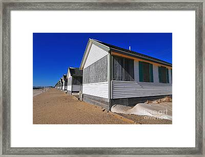 Closed For The Season Framed Print by Catherine Reusch Daley