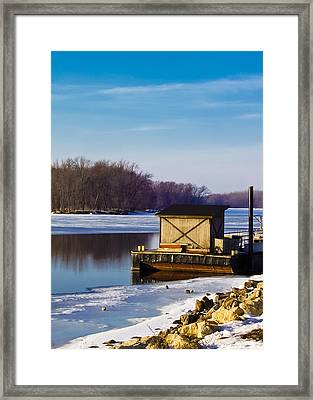 Closed For The Season Framed Print by Christi Kraft