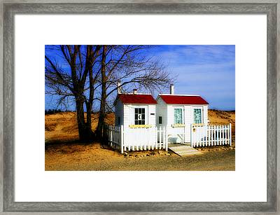 Closed For The Season Framed Print