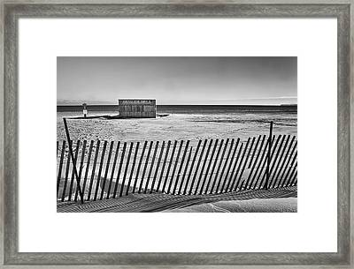 Closed For The Season Framed Print by Scott Norris