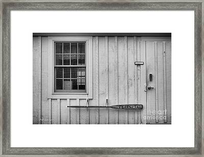 Closed  Framed Print by Pat Lucas