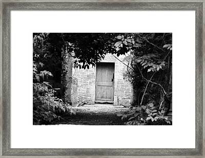Please Knock Framed Print by Dave Byrne