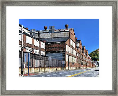 Closed Steel Mill Framed Print