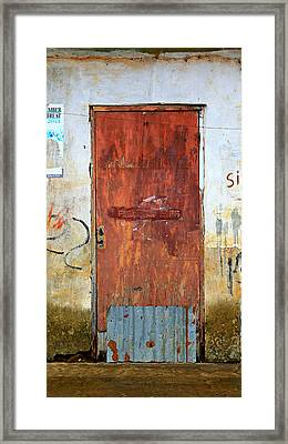 Closed Framed Print by Stephen Stookey
